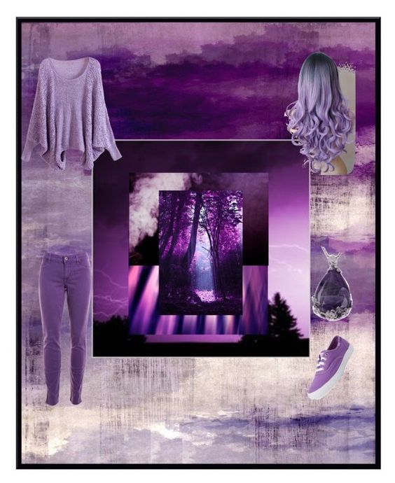 """""""The purple obsession"""" by iambobthequeen ❤ liked on Polyvore"""