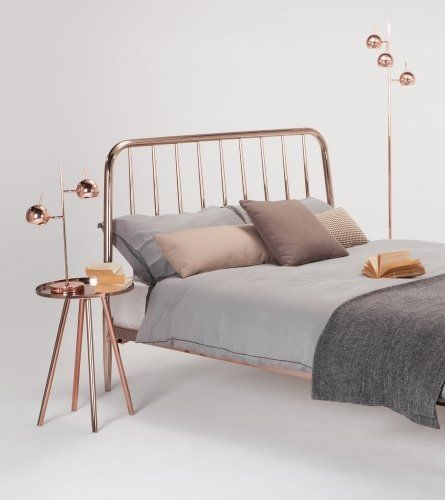 The Alana King size Bed in Copper. £499 | made.com