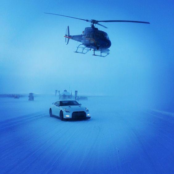 #LaplandIceDriving #LaponieIceDriving #Nissan #GTR #Cayman #Motorsport #ArticCircle #Supercar #WinterDriving #Sweden #Drift #Racing #Sweden Crédit Photo Felix Macias pour LID