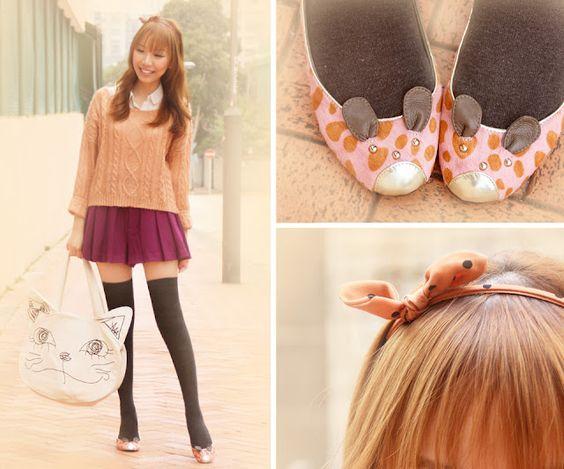 Dotthy Wong With Le Bunny Bleu Bunnimal Flat shoes