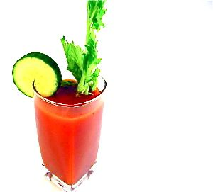 The Perfectly Skinny Bloody Mary Cocktail...Great to serve at a brunch. Bloody Mary's can be enjoyed in a variety of ways-with beer instead of tomato juice, extra spicy peppers, or even with gin, rum or tequila. I'm using good-for-you tomato juice and dressing it with celery and cucumber. http://www.skinnykitchen.com/recipes/the-perfectly-skinny-bloody-mary-cocktail/