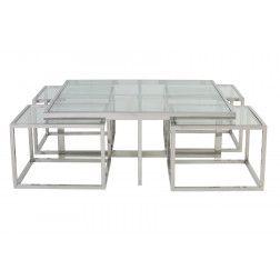 Aparte Glazen Salontafel.Groot Assortiment Moderne Glazen Salontafels