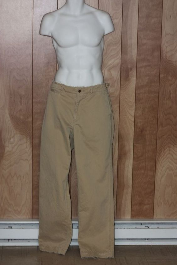 MEN'S POLO RALPH LAUREN TWILL PANTS-SIZE: 36 X 34 #POLORALPHLAUREN #KhakisChinos