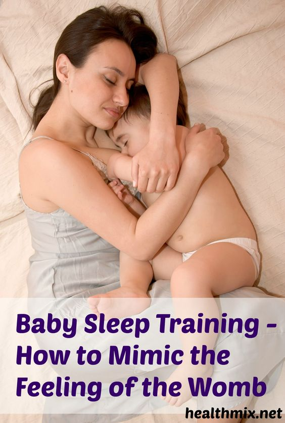 Baby Sleep Training - How to Mimic the Feeling of the Womb