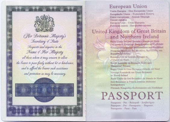 how to find old uk passport number