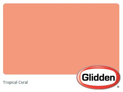 Coral Paint Colors Tropical And Coral On Pinterest