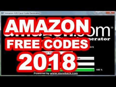 Free Amazon Gift Card Codes Generator 2018 Free Amazon Gift Card