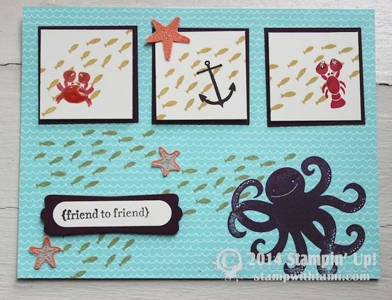 Sea Street Stamp Set