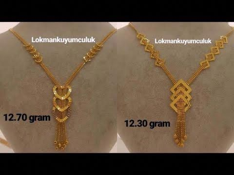 Latest Light Weight Gold Necklace Designs Gold Necklace For Women Under 10 Grams Youtube Goldnec Gold Necklace Designs Gold Fashion Necklace Gold Necklace