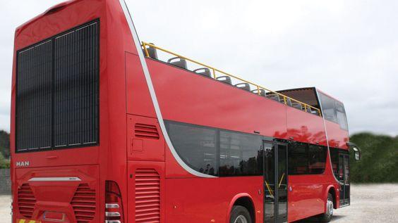 Painel solar no autocarro | Bus solar panel