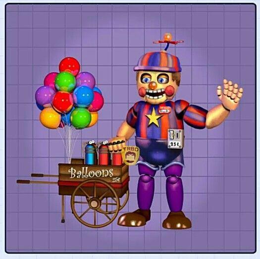 Rockstar Balloon Boy Fnaf Art