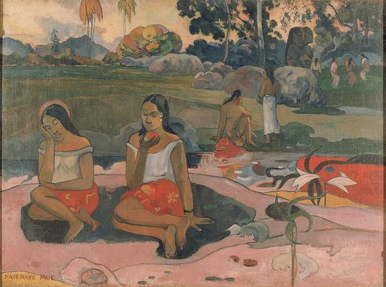 Gauguin, Paul - Nave nave moe (Sacred spring, sweet dreams), 1894,