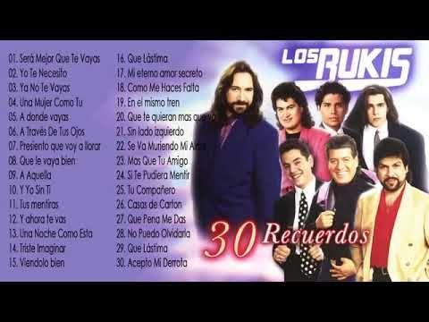 Los Bukis 30 Exitos Del Recuerdo Youtube Music Publishing Music 183 letras de los bukis y mucho más. los bukis 30 exitos del recuerdo