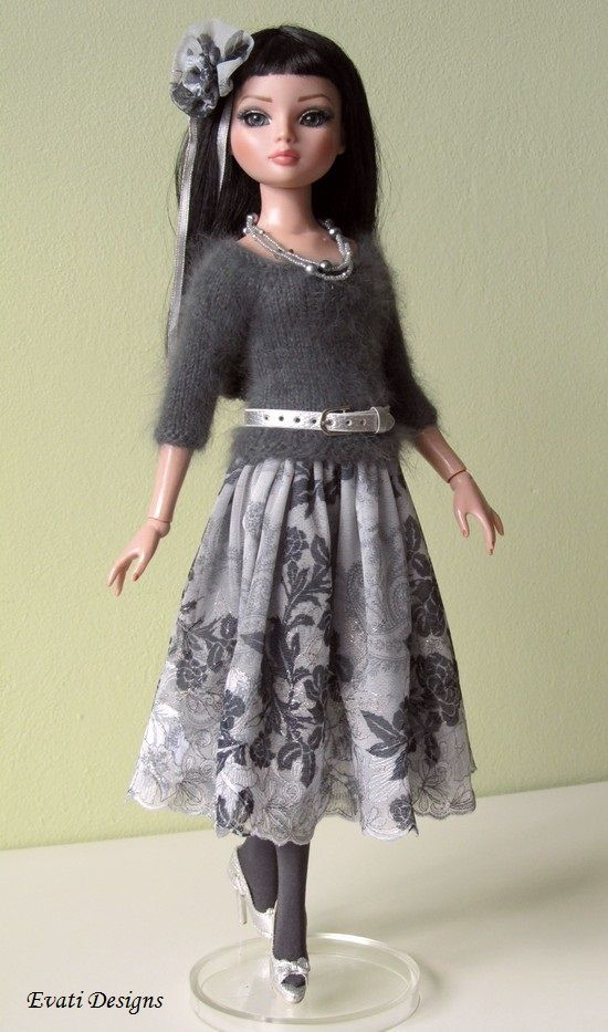OOAK Outfit for Ellowyne, by *evati* via eBay SOLD  11/11/13  $100.99: