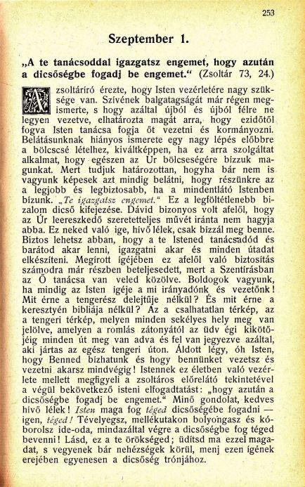 09.01. Spurgeon: Harmatgyöngyök...