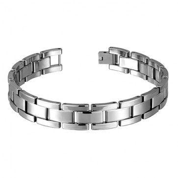 Revv Collection, Tungsten Carbide 8.5 Inch Gents Bracelet
