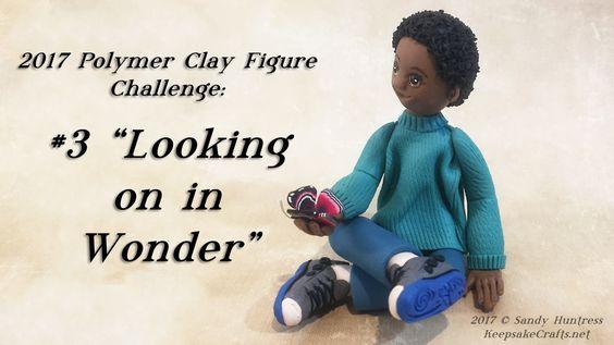 """#3 James """"Looking on in Wonder"""" by Sandy Huntress-KeepakeCrafts.net"""