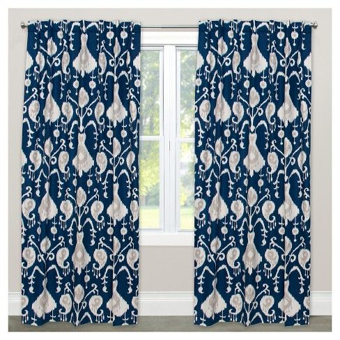 Window Curtain Panels Blue Target Curtains Drapes Curtains Panel Curtains
