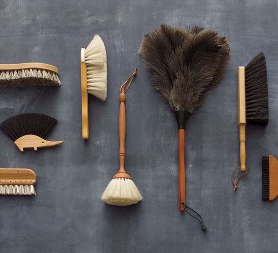 Clean Slate Cleaning Products: Brushes, Bristles and Beauty I Crate and Barrel: Redecker Brushes, Cleaning Tools, Clean Slate, Cleaning Crate, Barrel Clean, Cleaning Brushes, Natural Cleaning Products, Products Brushes