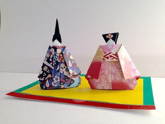 折り紙 雛人形 : jp.pinterest.com