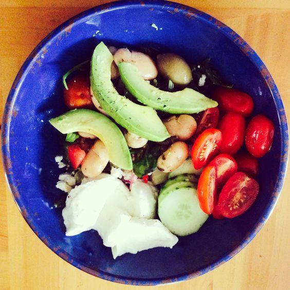 ... , mozzarella di bufala, marinated mushrooms, fava beans & olives