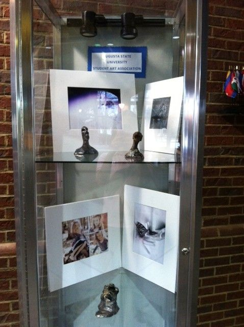 The Augusta Visitor Information Center highlights art from Augusta State University students. Located on I-20 West.