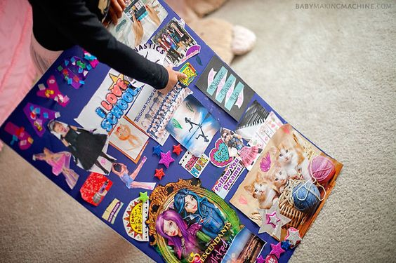 Vision Boards for Kids: Help Your Children Follow Their Dreams: