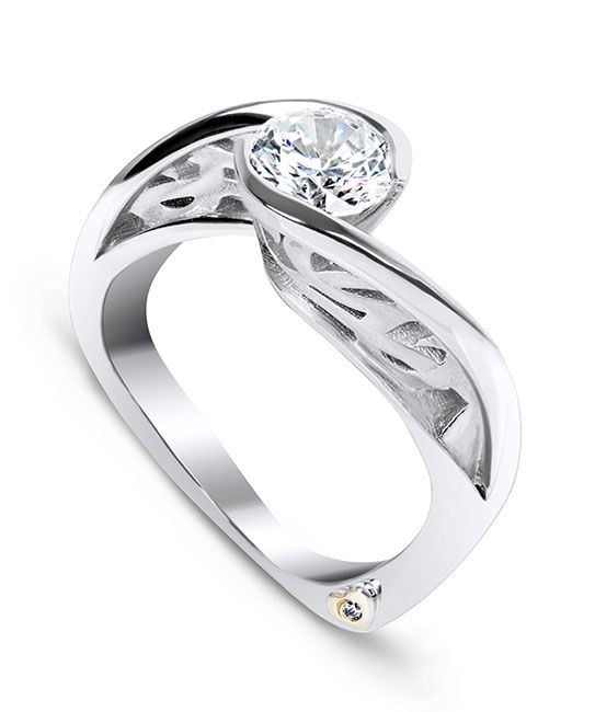 Sincerity Engagement Ring - Mark Schneider Design