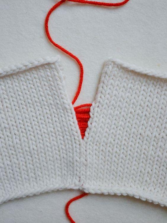 Knitting Joining Seams Mattress Stitch : Purl bee, Stitches and Mattress on Pinterest
