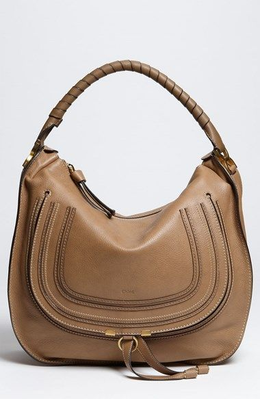 buy chloe bags online - Women\u0026#39;s Chloe \u0026#39;Large Marcie\u0026#39; Leather Hobo Nut One Size | In Love ...