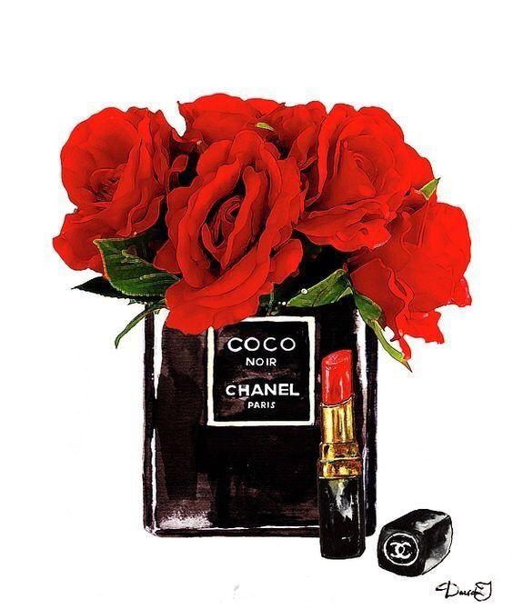 F O L L O W Sylvia Em Art Chanel Affiche Chanel Fond D Ecran Telephone
