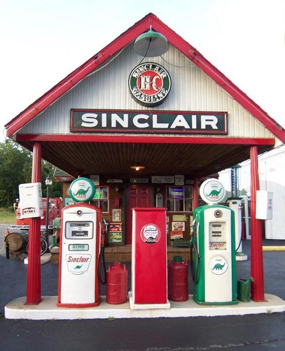 Sinclair Apartments: Image Detail For -Vintage Sinclair Station