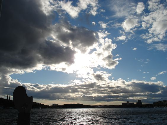 Nordic clouds in Stockholm, Sweden #Frifotos