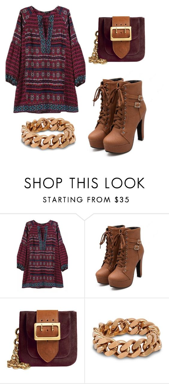"""Untitled #59"" by jade234 ❤ liked on Polyvore featuring Burberry and STELLA McCARTNEY"