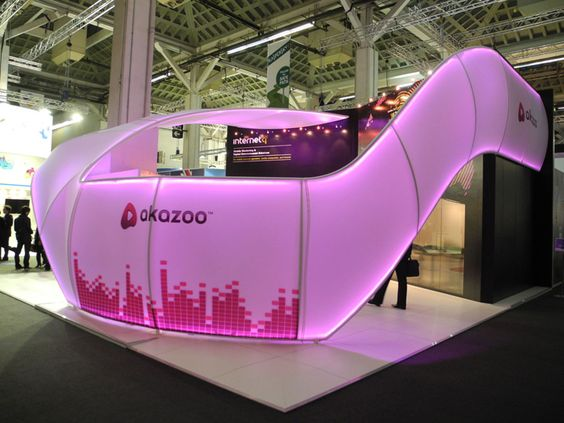 Exhibition Stand Led Lighting : Internet q akazoo exhibit display by instyle led lighting