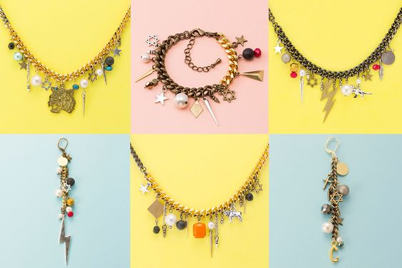 """CLOCH"" handmade jewelry   ""If you can't find what you want, just make it!!"" by Mye  http://www.cloch.jp"