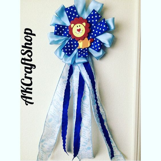 Baby Boy Crosage for Baby Shower by AKCraftShop on Etsy