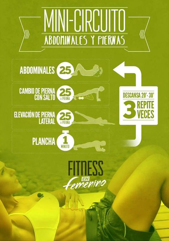 Abs and legs !! Fitness en Femenino