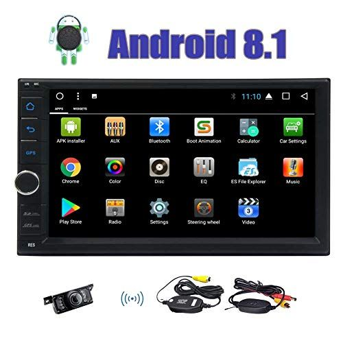 Double Din Radio With Backup Camera