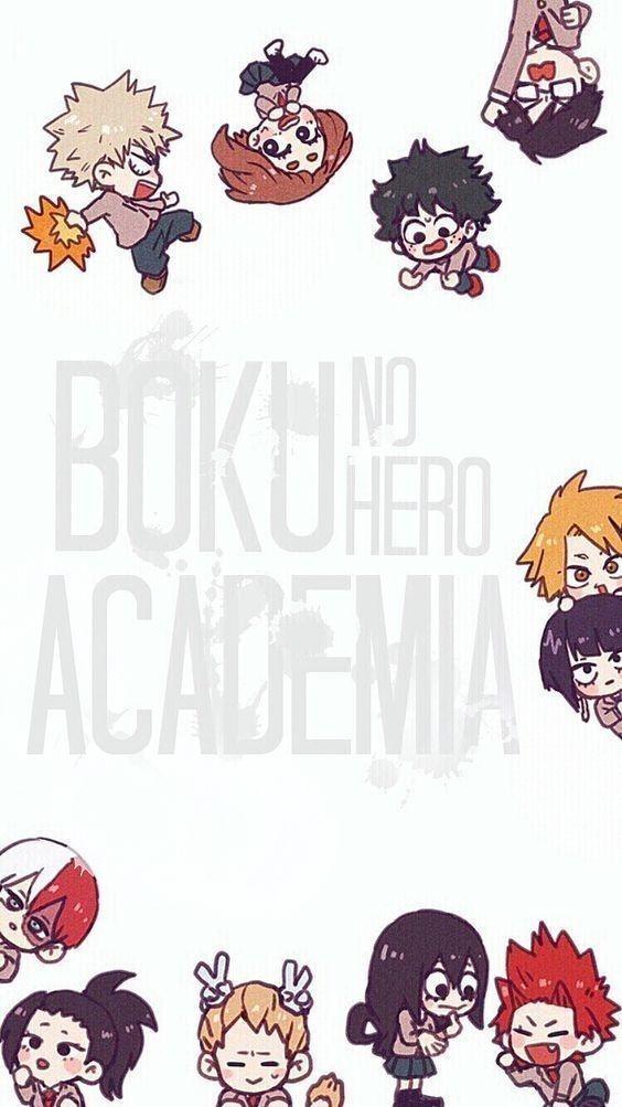 Boku No Hero Academia Chibi Hero Wallpaper Anime Wallpaper Hero
