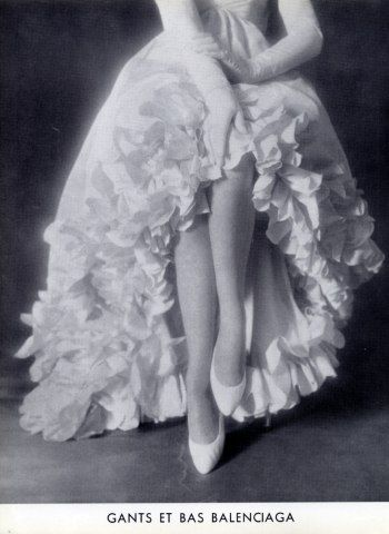 Cristóbal Balenciaga 1957 Stockings & Gloves