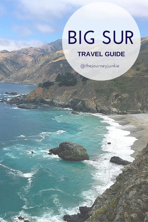 Big Sur, California ---> just as beautiful as Santorini and Capri!