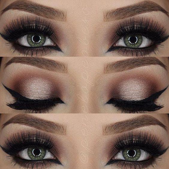 Wedding Makeup For Hazel Eyes And Brown Hair : Pinterest: jovaniica ~Everything Make Up~ Pinterest ...