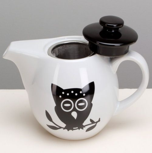 Night Owl Infuser Teapot