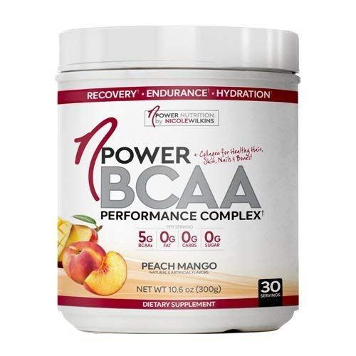 Npower Nutrition Bcaa All Natural Bcaa Collagen Electrolyte Powder 30 Servings Peach Mango Review Peach Mango Bcaa Nutrition