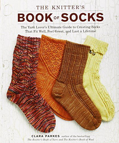 The Knitter's Book of Socks: The Yarn Lover's Ultimate Guide to Creating Socks That Fit Well, Feel Great, and Last a Lifetime von Clara Parkes http://www.amazon.de/dp/0307586804/ref=cm_sw_r_pi_dp_WxR0vb1T9DT7Z