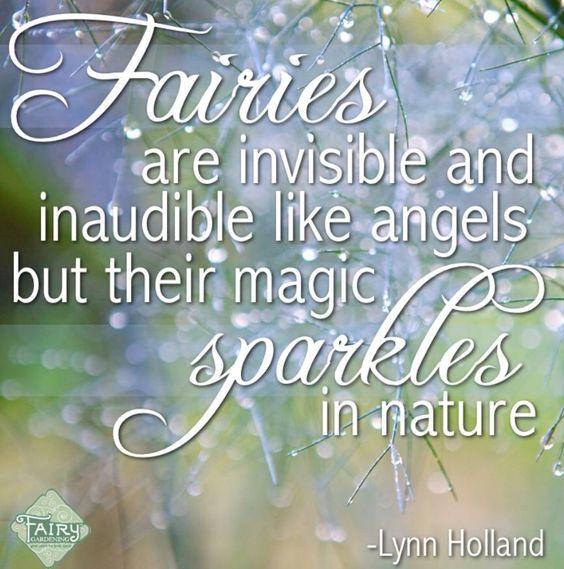 Si, muy cierto! Su magia centellea y brilla ¡en toda la naturaleza!