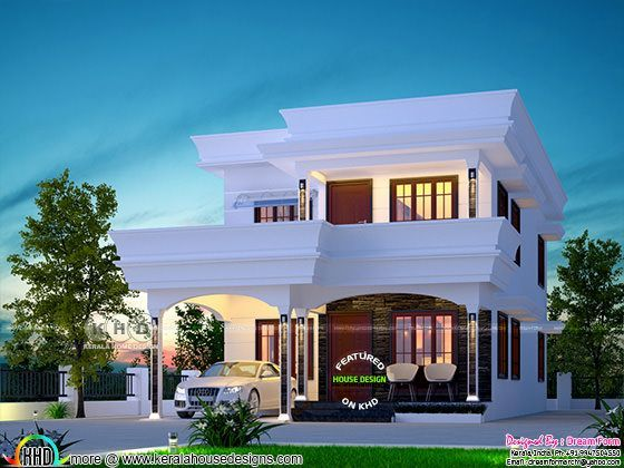 Grand 4 Bedroom House In 5 Cents Of Land Kerala House Design Single Floor House Design 4 Bedroom House Designs