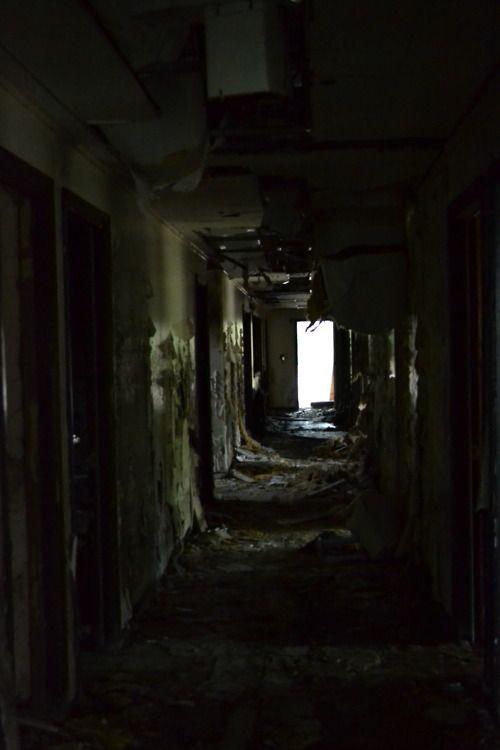 Long Dark Hallway | Creepy Corridors | Iudicium Locations Inspiration |  Pinterest | Dark Hallway And Abandoned
