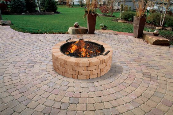 Transform Your Yard Into A Relaxing Outdoor Oasis With The Ashwell Fire Pit Featuring Belgian